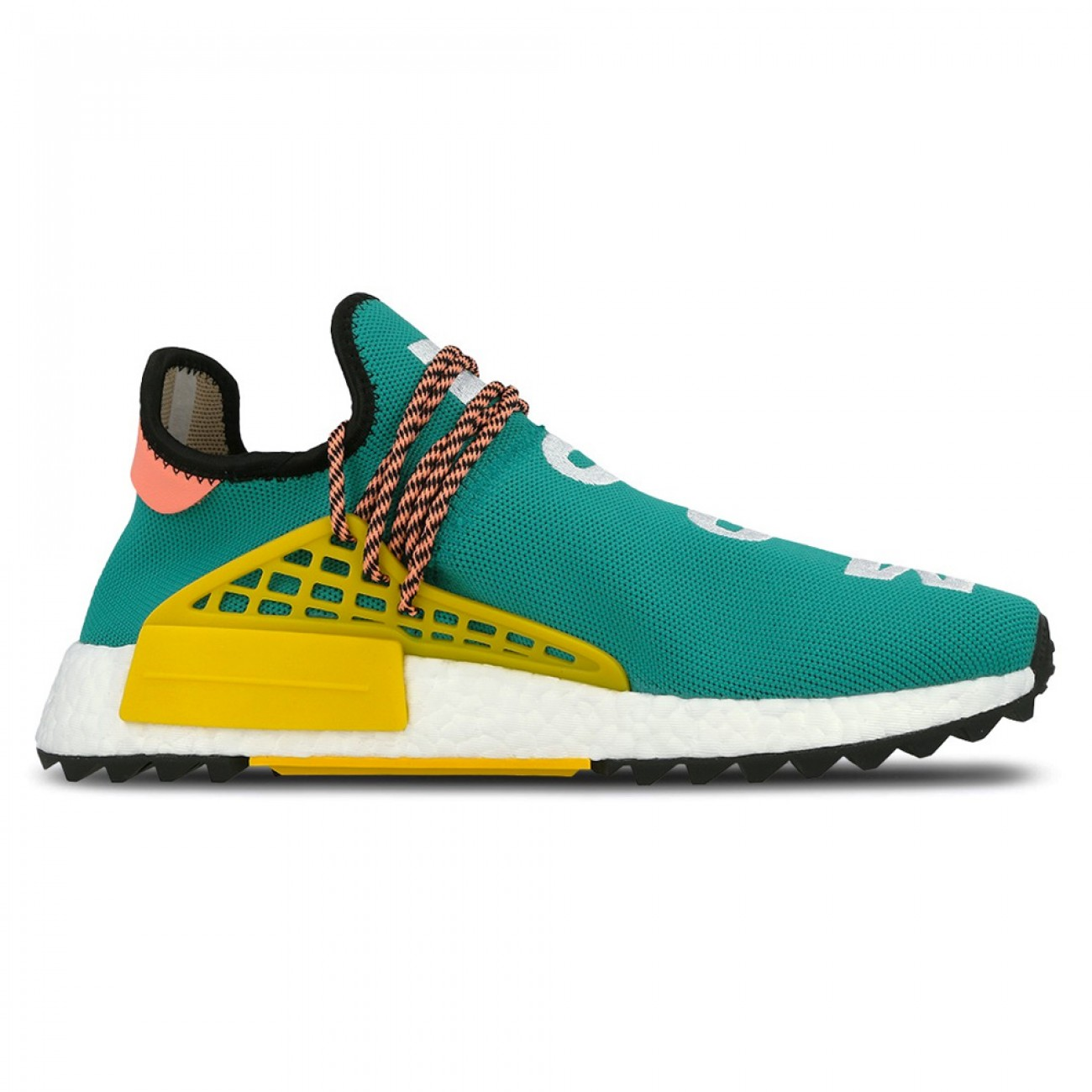 Details about Adidas x Pharrell Williams Human Race NMD Trail Sun Glow Hu Clouds Teal AC7188